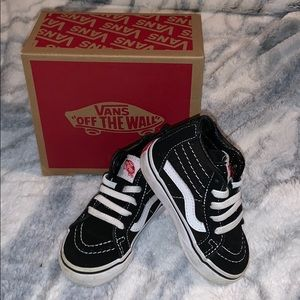 Infant Vans SK8 Zip Black